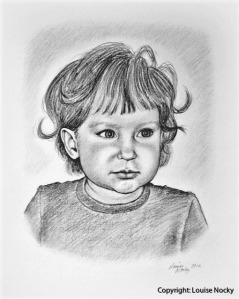 Blyertsporträtt